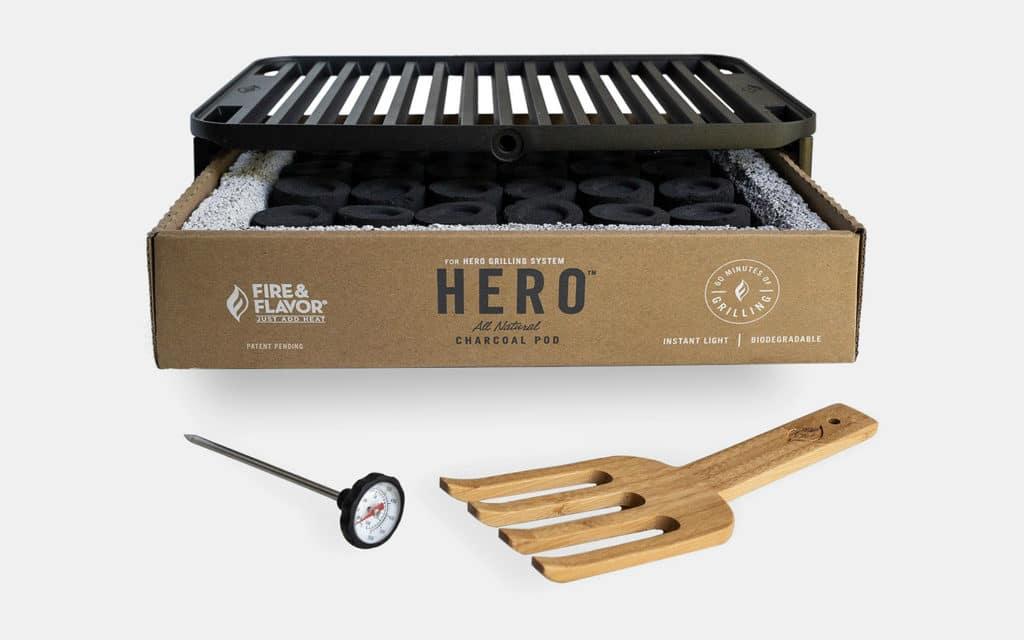 Fire & Flavor Hero Portable Grill