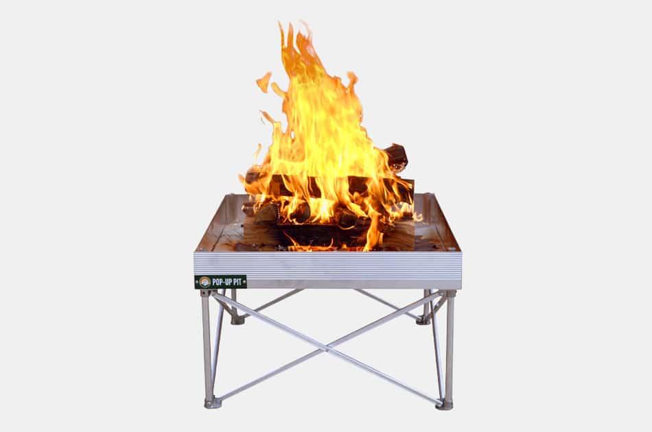 Campfire Defender Pop-Up Portable Fire Pit