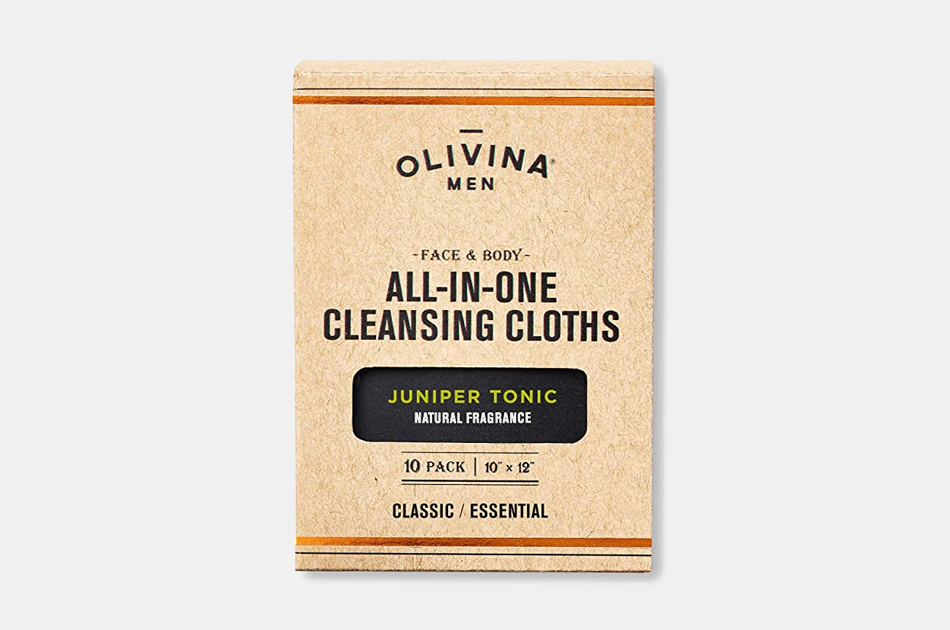Olivina Men All In One Cleansing Cloths
