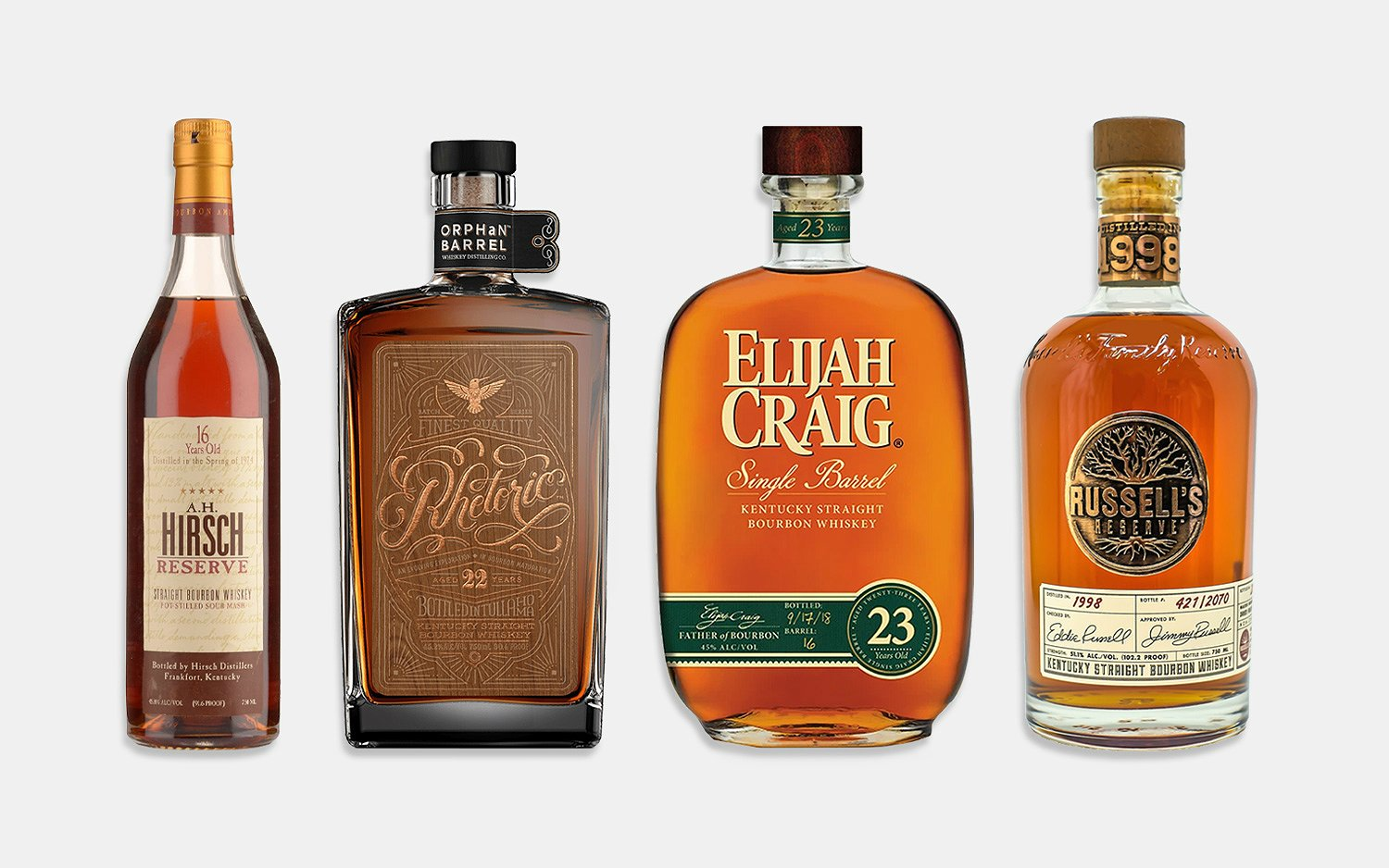 Rare, Hard-To-Find Bourbons