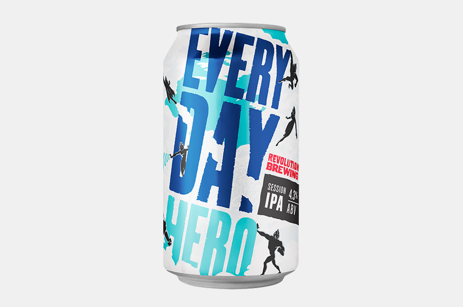 Revolution Brewing Everyday-Hero Session IPA