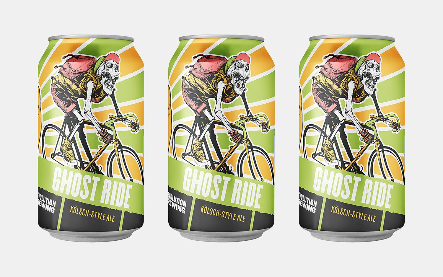 Revolution Brewing Ghost Ride Kölsch-Style Ale