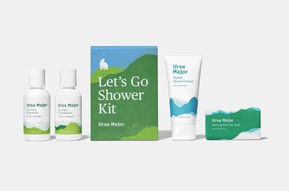 Ursa Major Let's Go Shower Kit