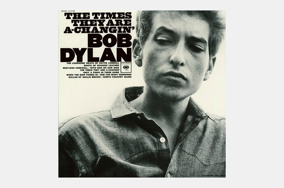 Bob Dylan The Times They Are A-Changin' Vinyl Album
