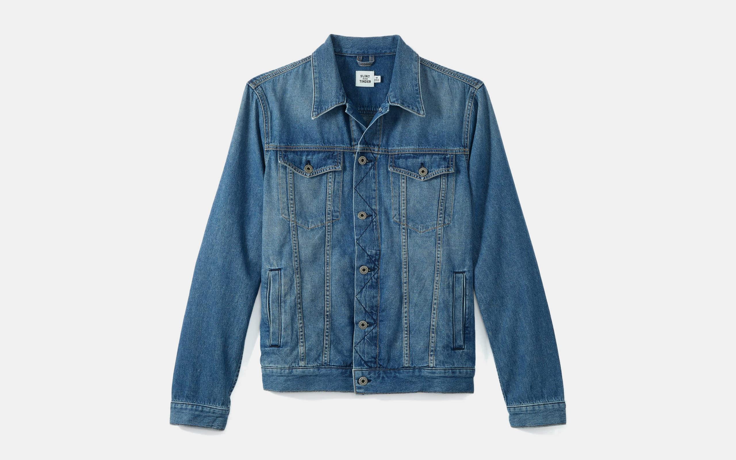 Flint and Tinder Light Wash Denim Jacket