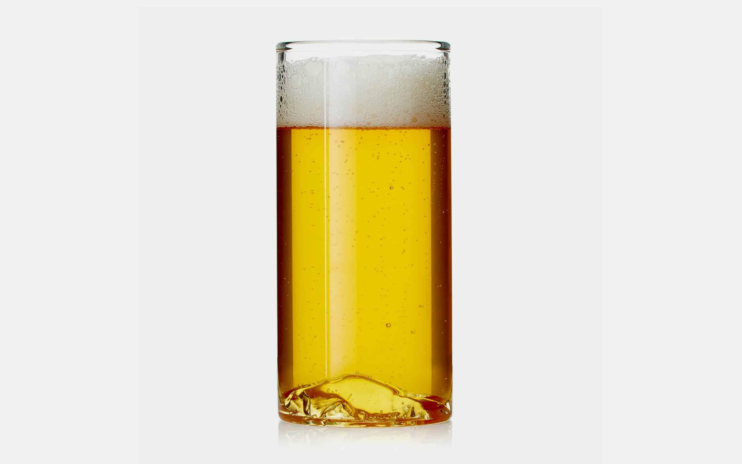 Whiskey Peaks Half Dome Beer Glass