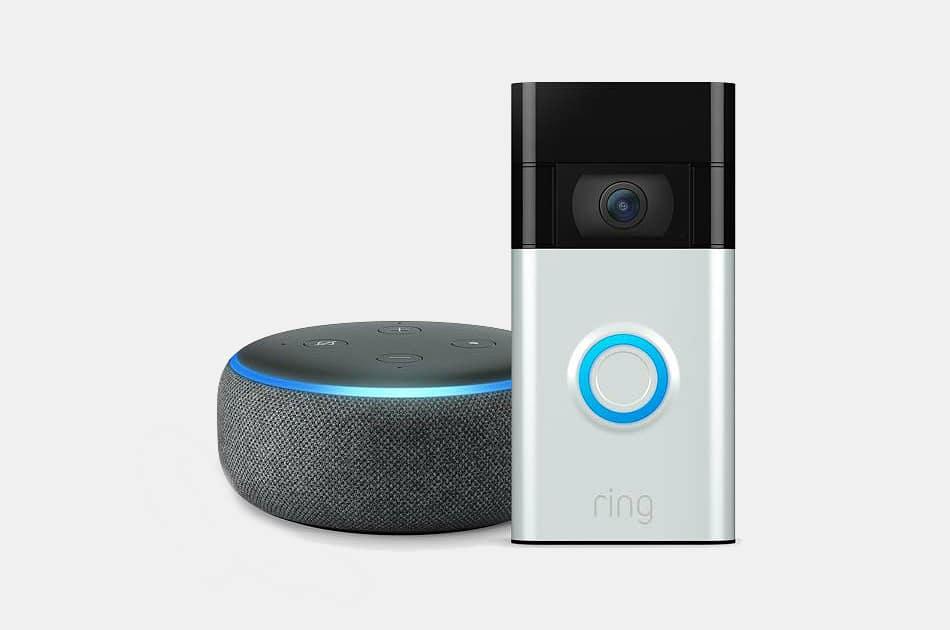 Ring Doorbell + Echo Dot