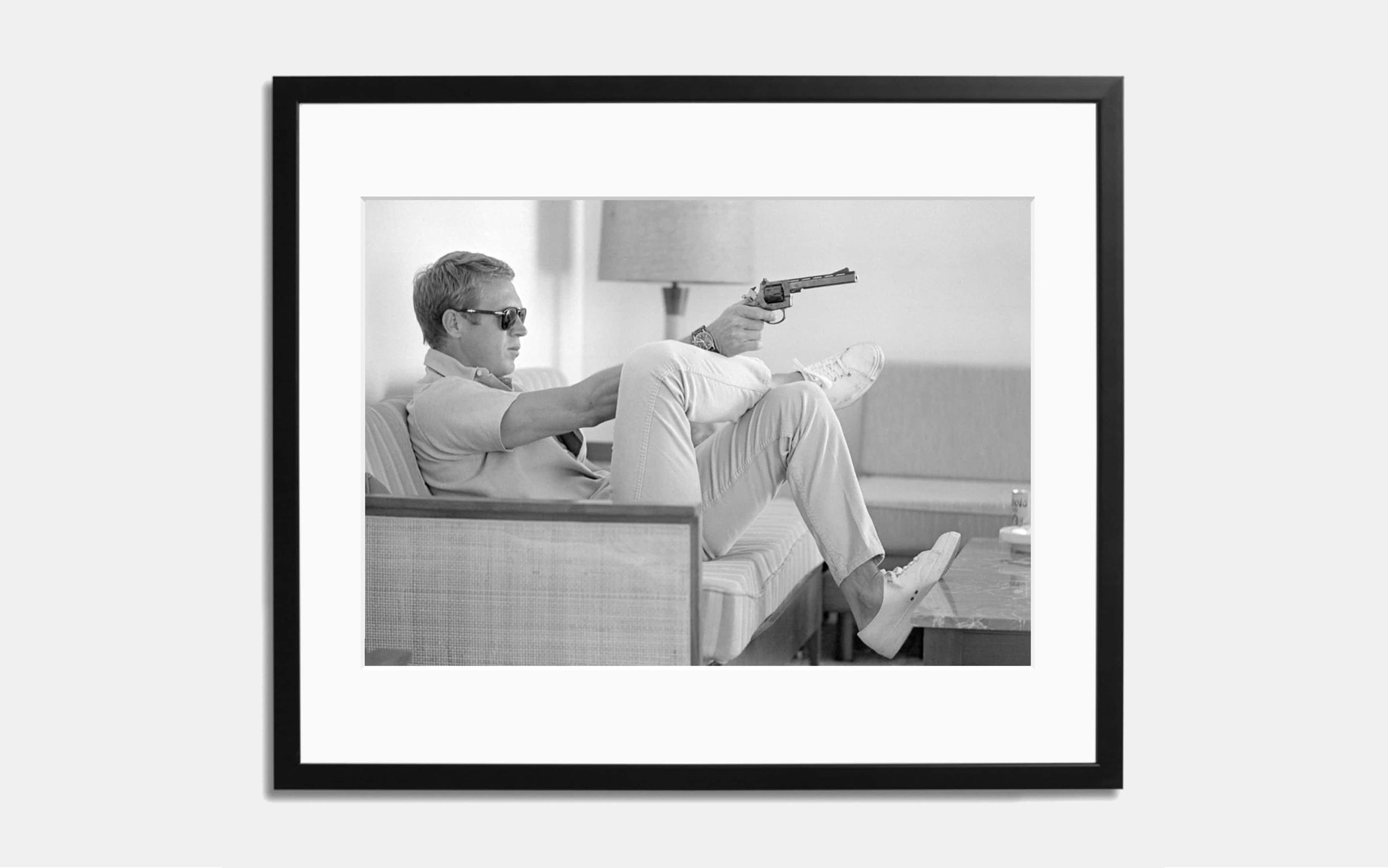 Steve McQueen #1 Limited Edition Print