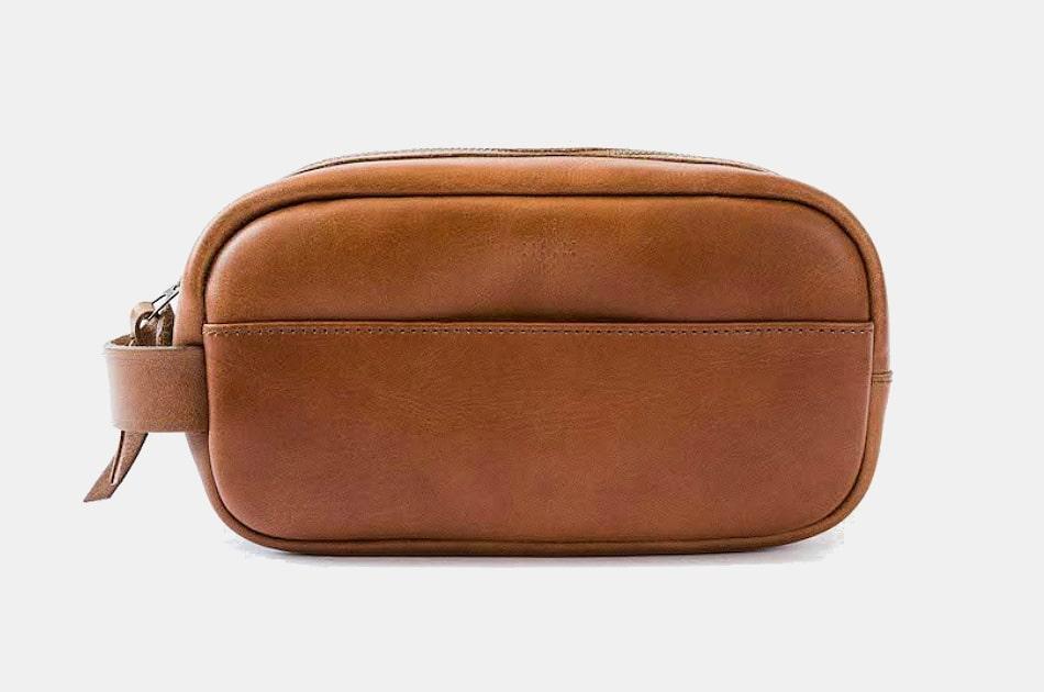WP Standard Leather Dopp Kit