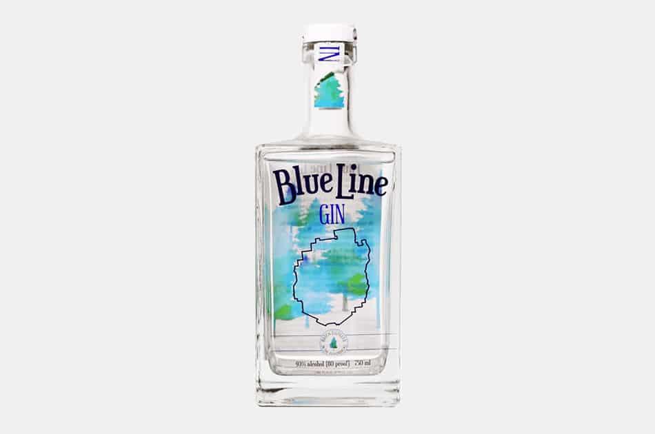 Blue Line Gin (New York, Adirondacks)