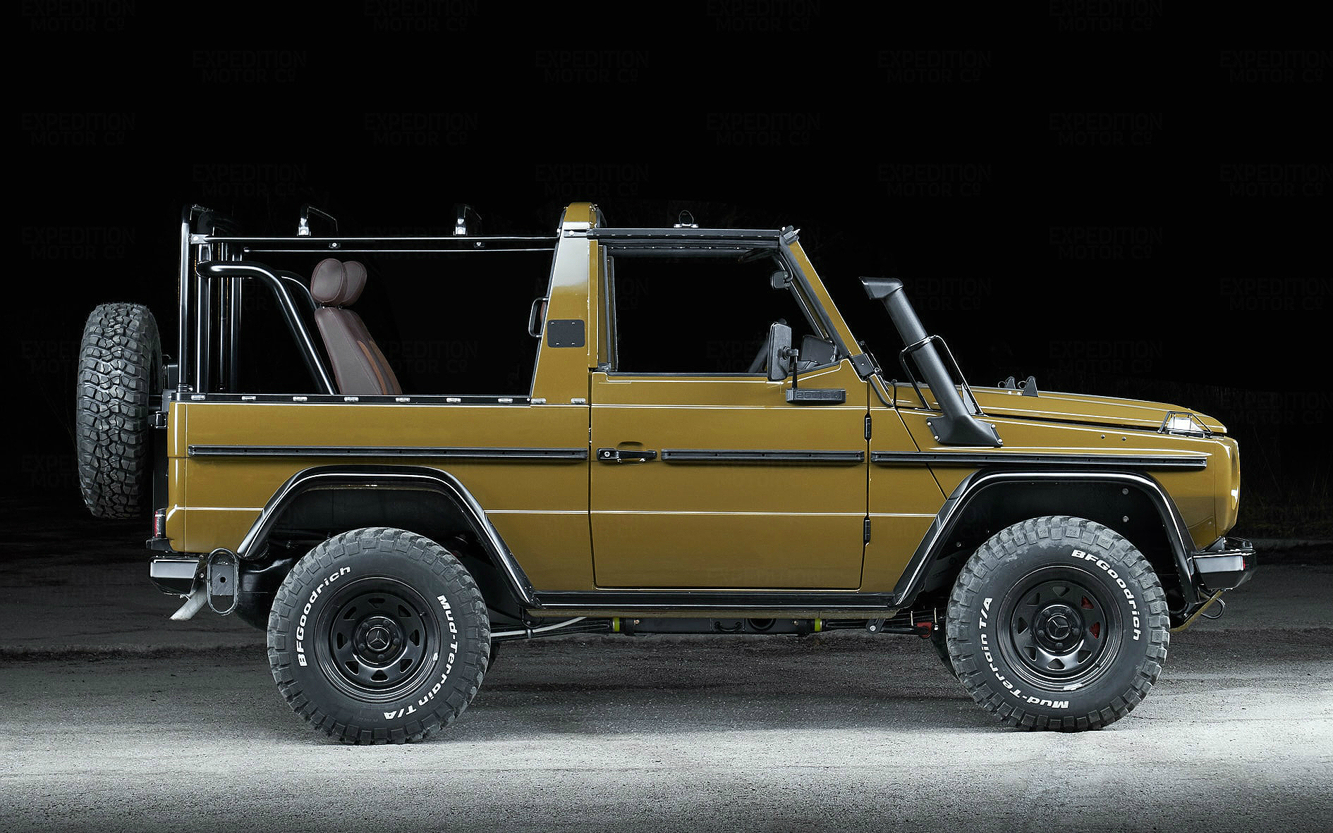 Expedition Motor Co. 1991 Mercedes-Benz 250GD Wolf