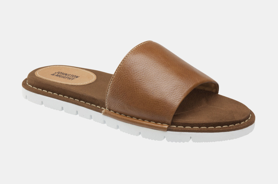 Johnston & Murphy Prescott Slide Sandals
