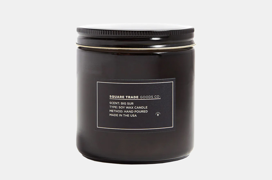Square Trade Goods Big Sur Candle