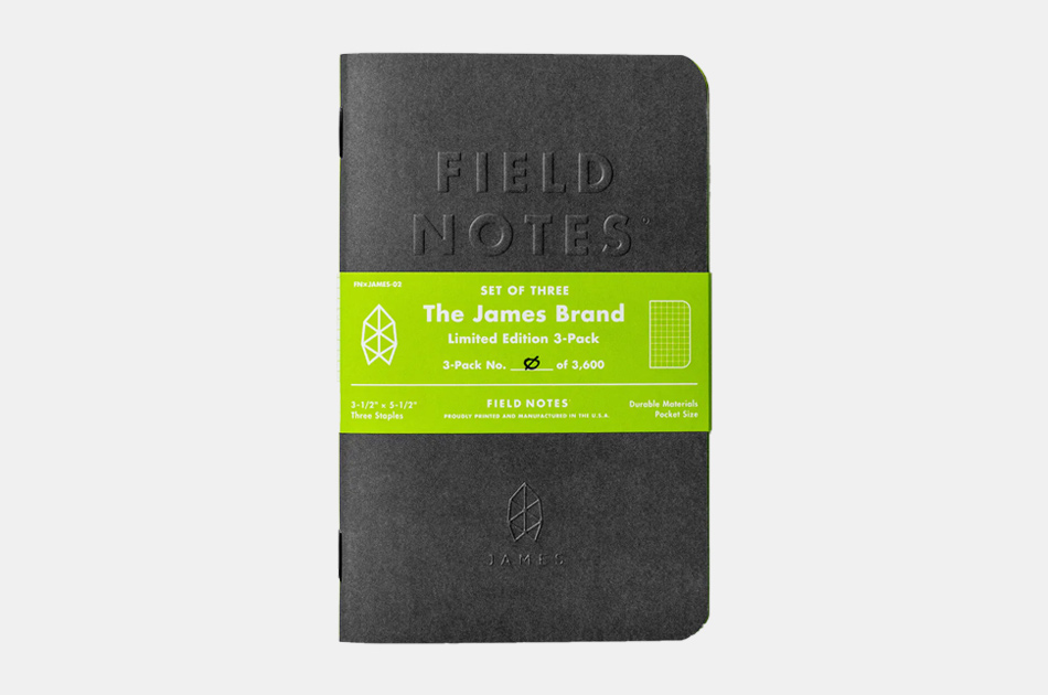 TJB x Field Notes Ltd. Edition Grid Notepad