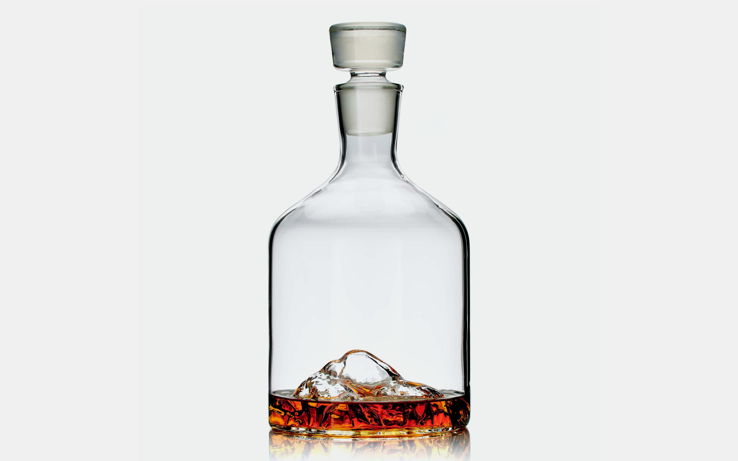 Whiskey Peaks Mountain Decanter