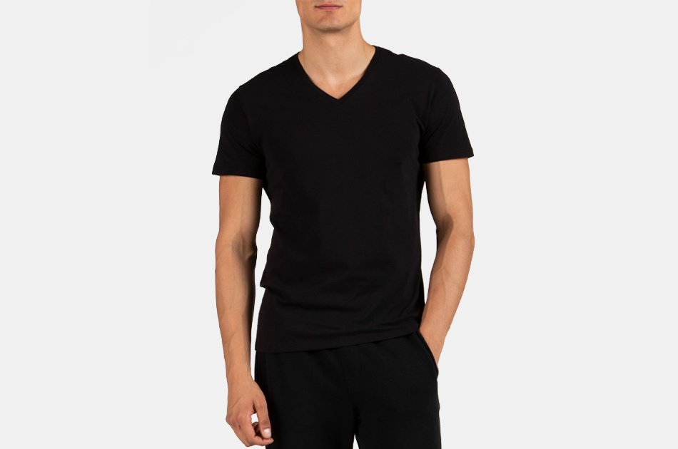 ATM Classic Jersey V-Neck Tee