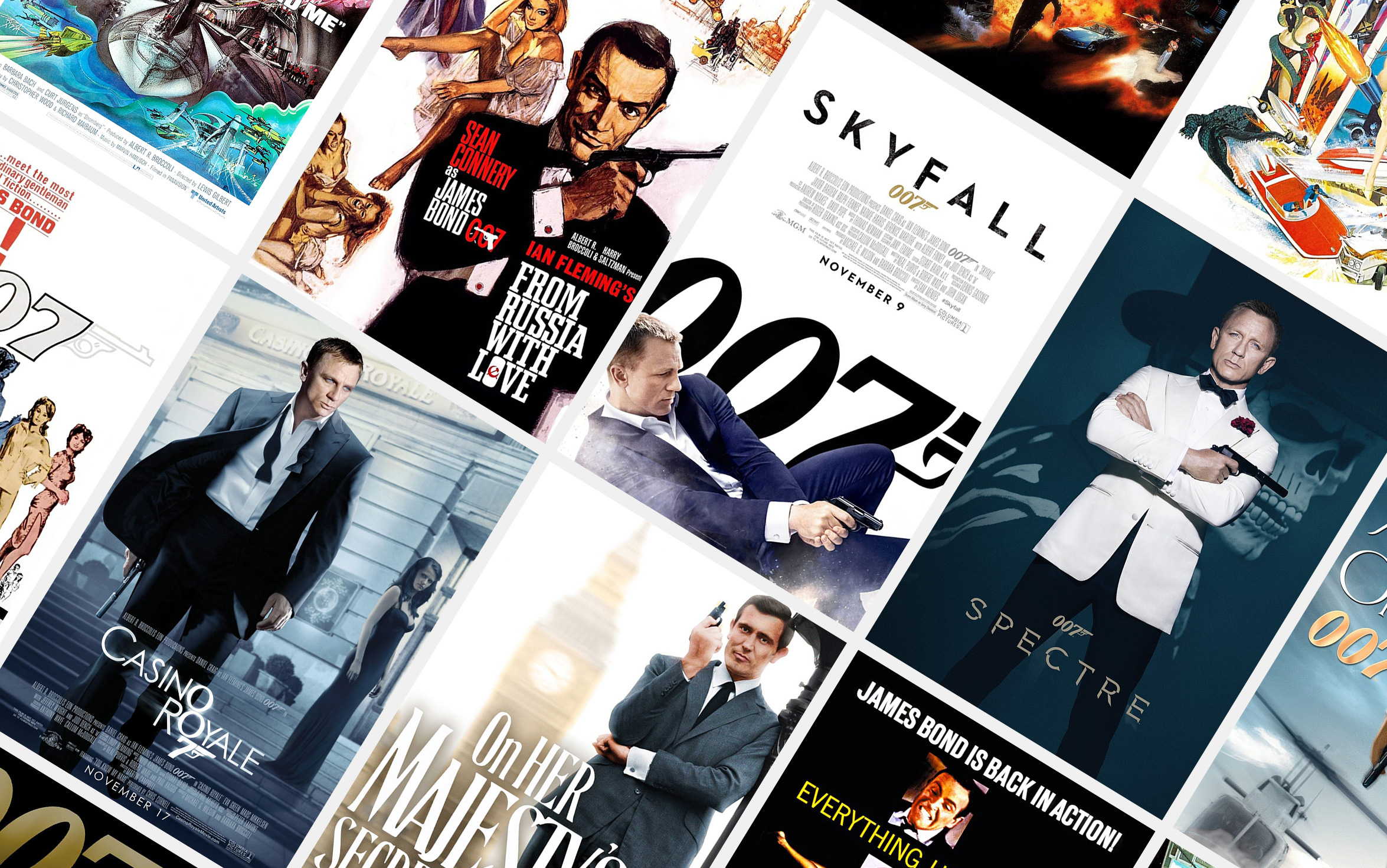 James Bond Movies Ranked
