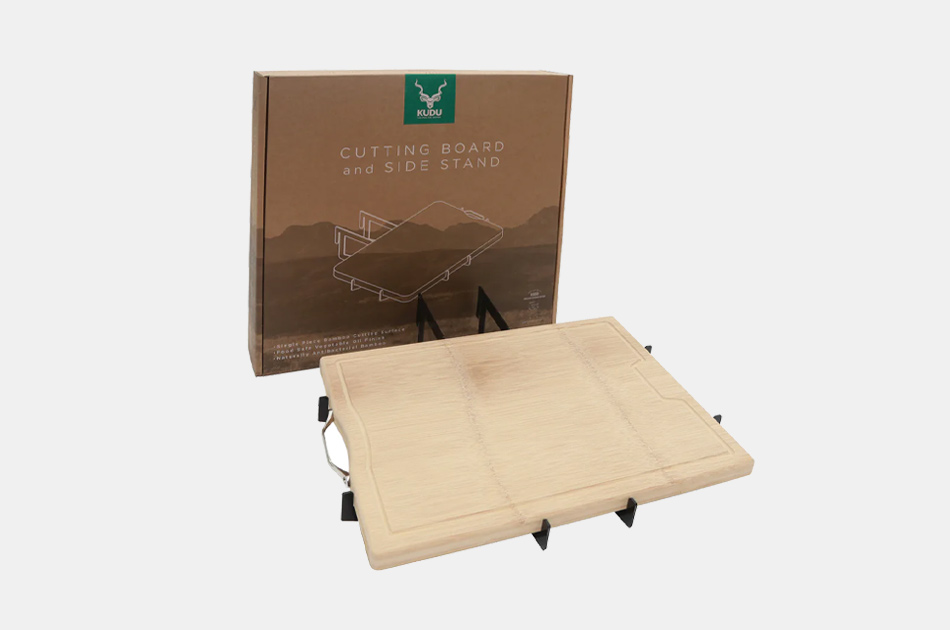 KUDU Cutting Board and Side Table