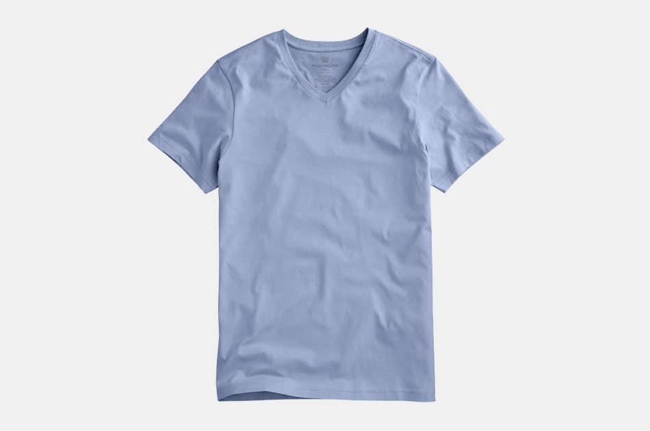 Mack Weldon Pima V-Neck T-Shirt