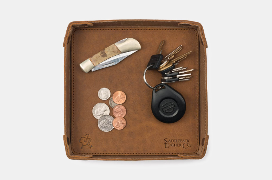 Saddleback Leather Catchall Valet Tray