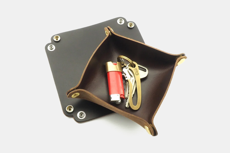 Scout Leather Mini Valet Tray