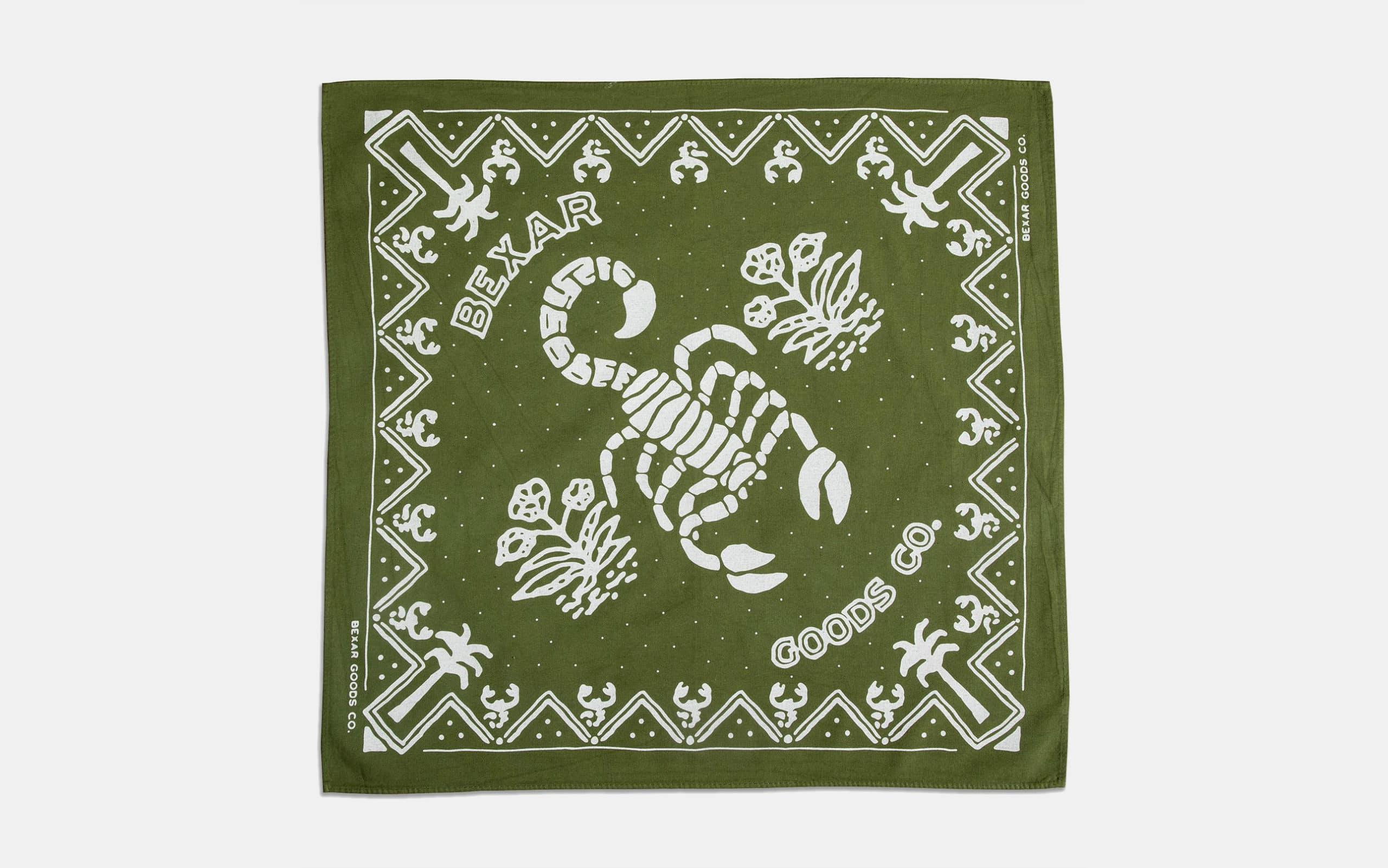 Bexar Goods Scorpion Bandana