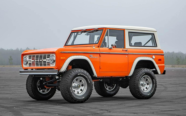 Velocity Restorations 1974 Bronco