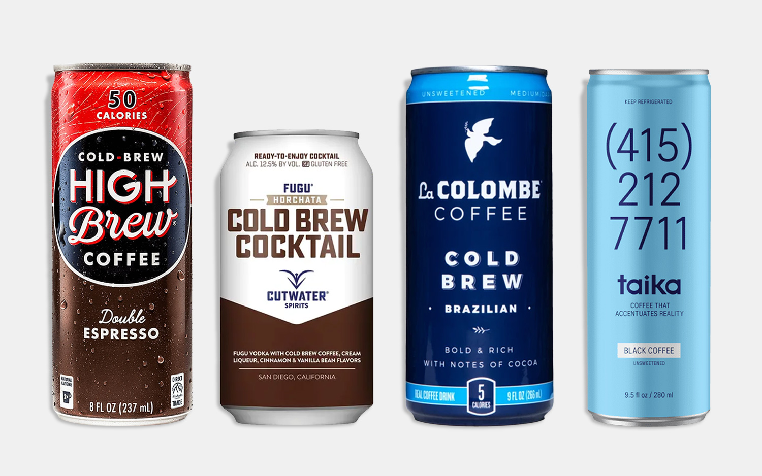 The 12 Best Canned Coffees
