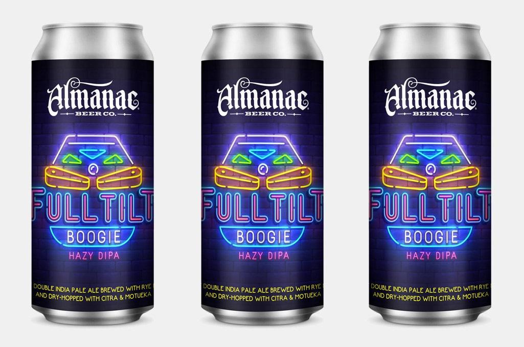 Almanac Beer Co. Full Tilt Boogie Hazy Double IPA