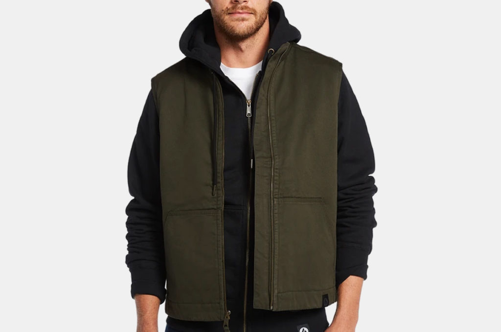 American Giant Hudson Insulated Twill Vest