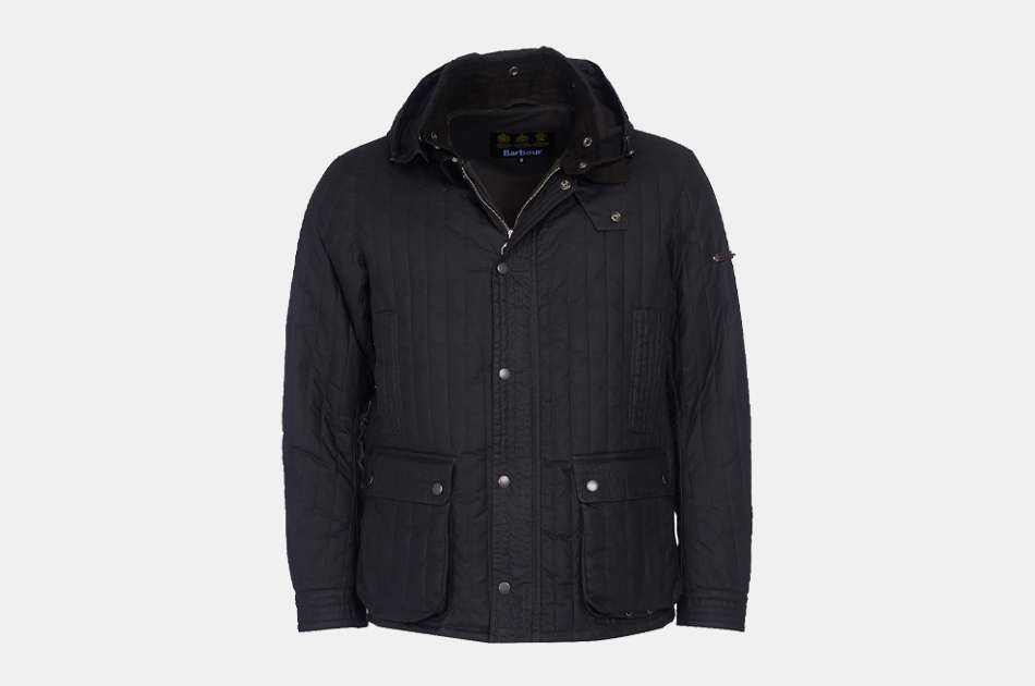 Barbour Gold Standard Supa Convertible Waxed Jacket