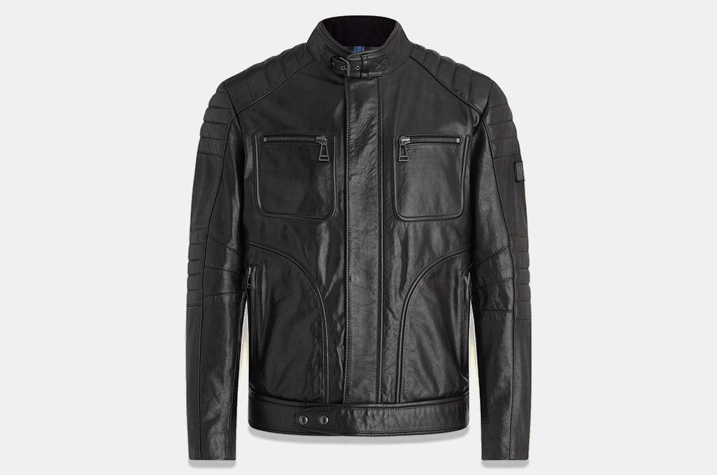 Belstaff Weybridge 2.0 Leather Jacket