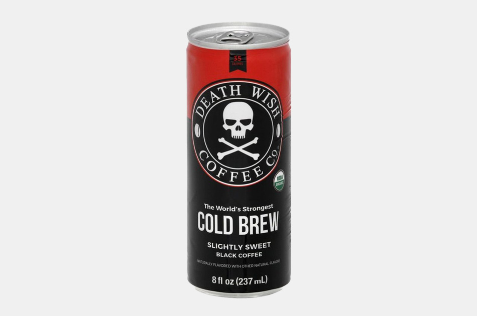 Death Wish Slightly Sweetened Cold Brew Coffee