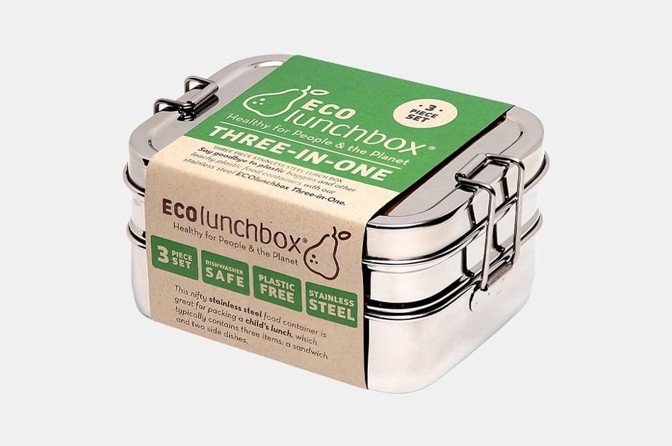 ECOlunchbox 3-in-1 Nesting Lunch Box