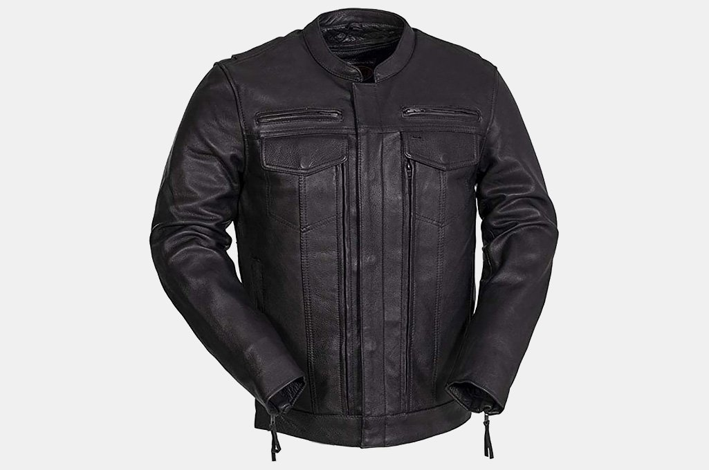 First MFG Co. Leather Motorcycle Jacket
