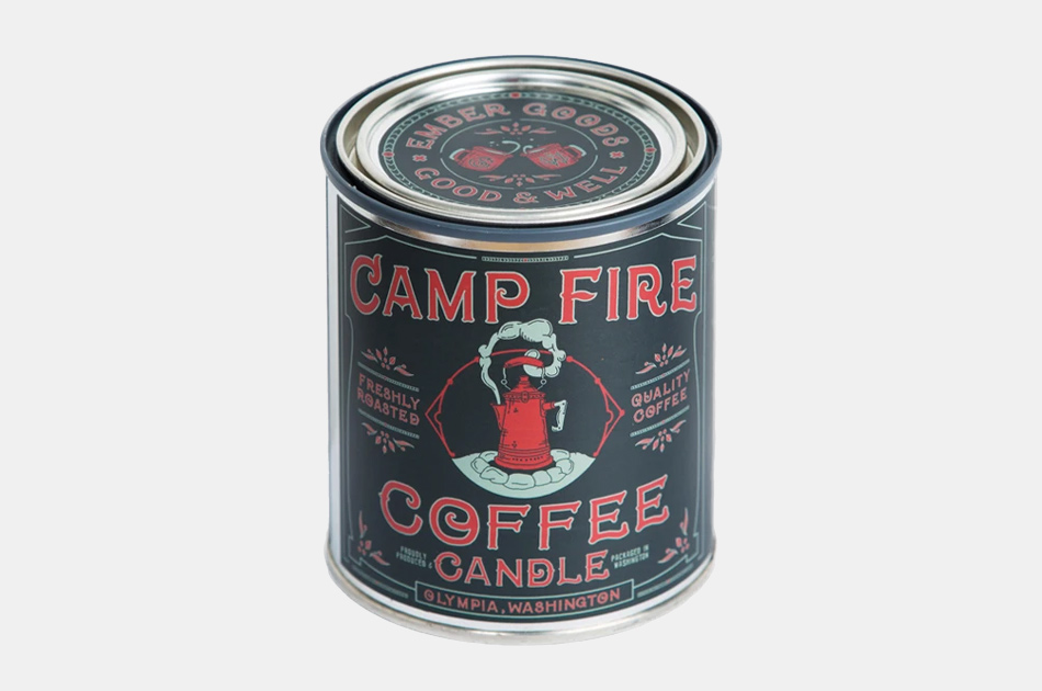Good + Well x Ember Goods Campfire Coffee Candle