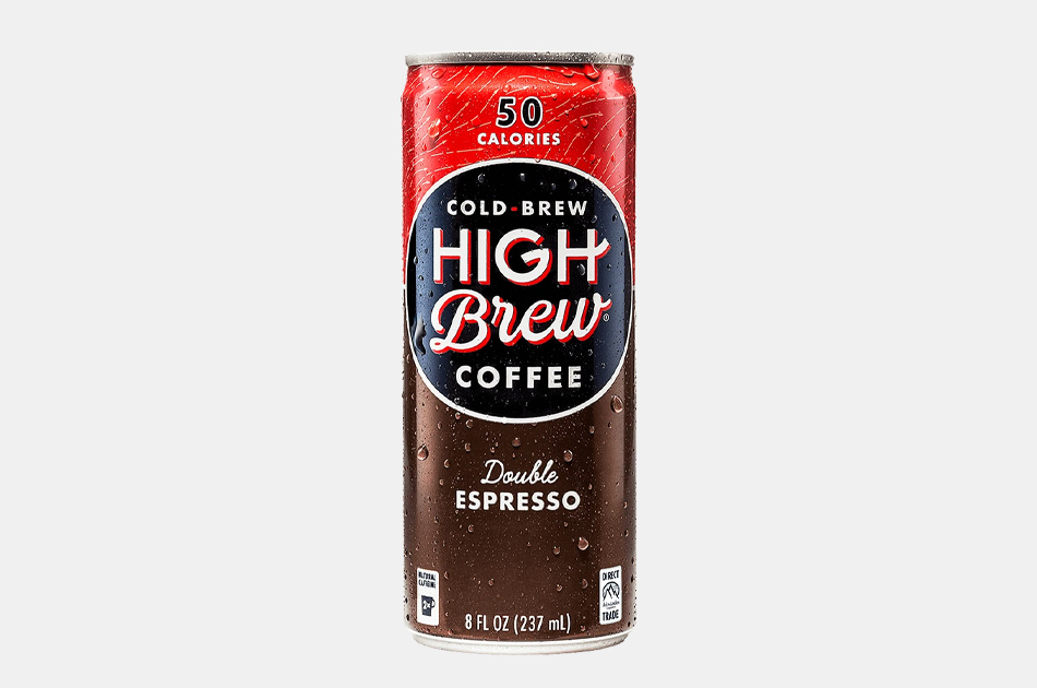 High Brew Coffee Double Espresso In A Can