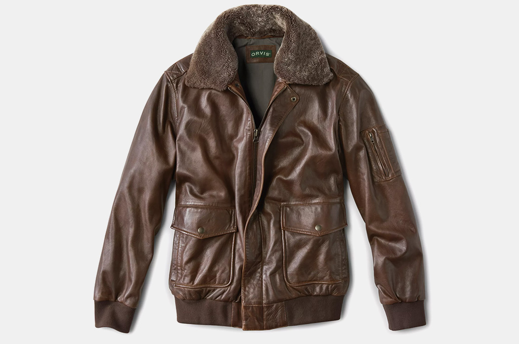 Orvis Spirit II Leather Jacket