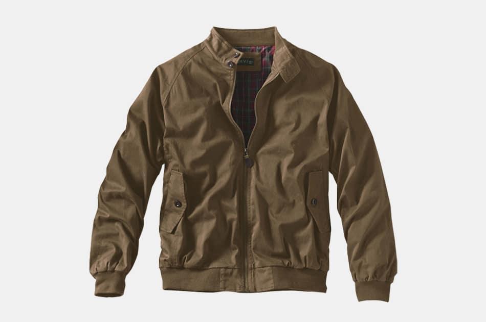 Orvis Waxed Weatherbreaker Jacket