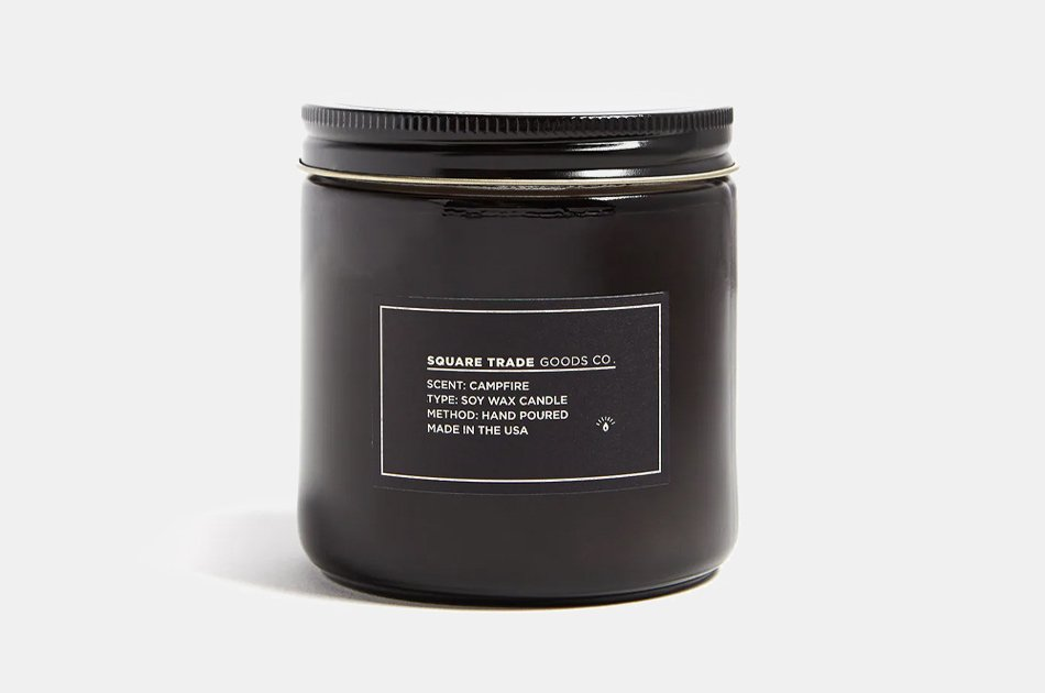 Square Trade Goods Campfire Candle