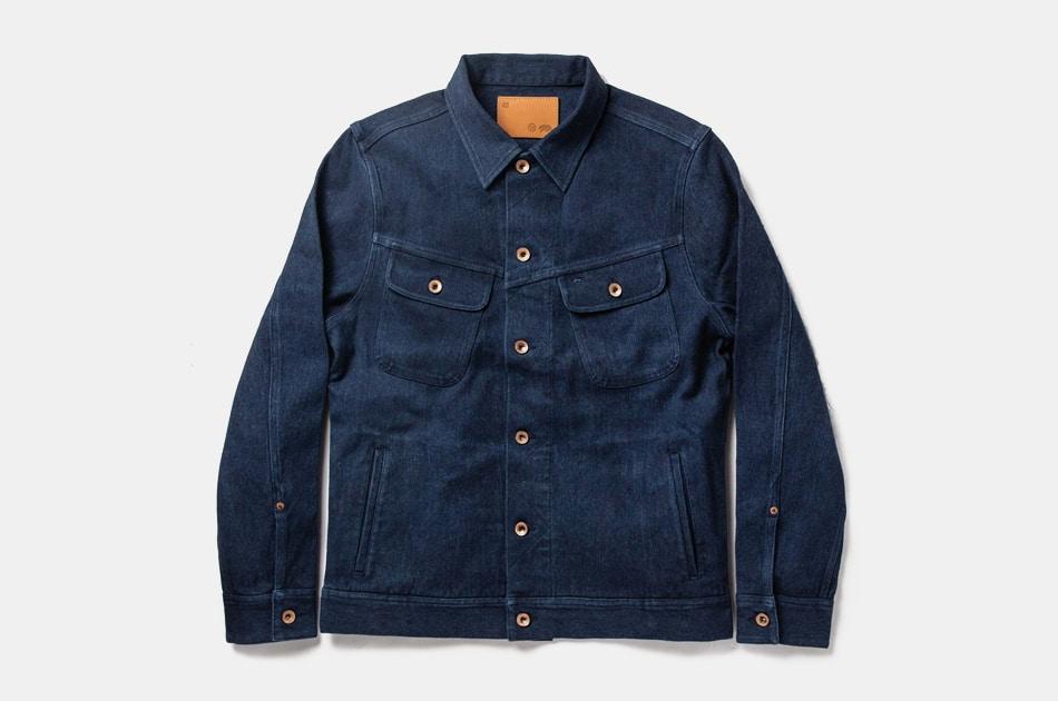 Taylor Stitch Long Haul Jacket in Indigo Boss Duck