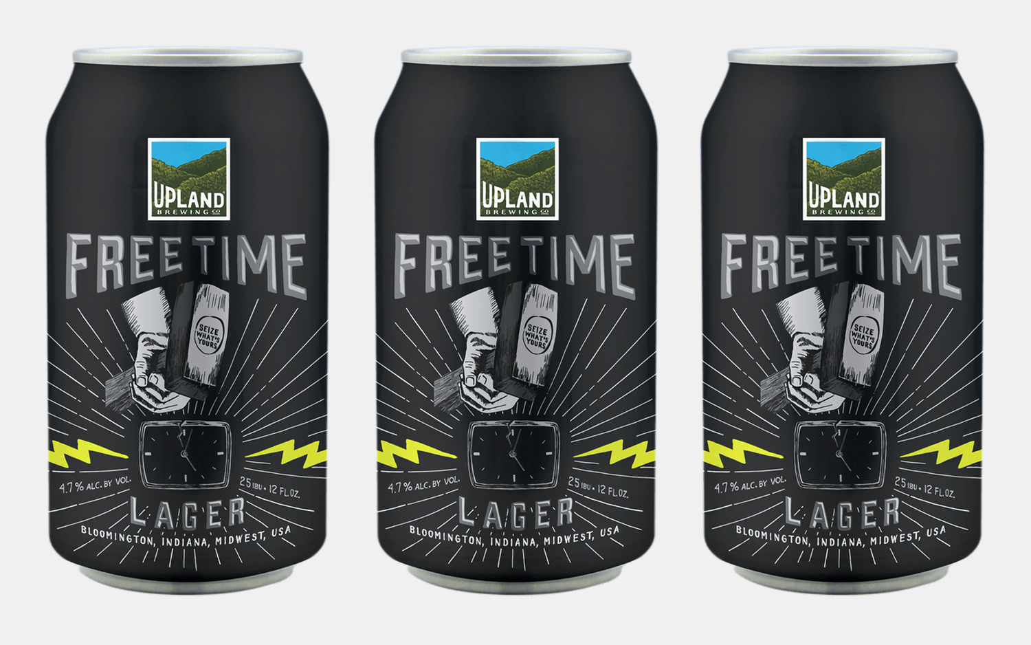 Upland Brewing Free Time Lager