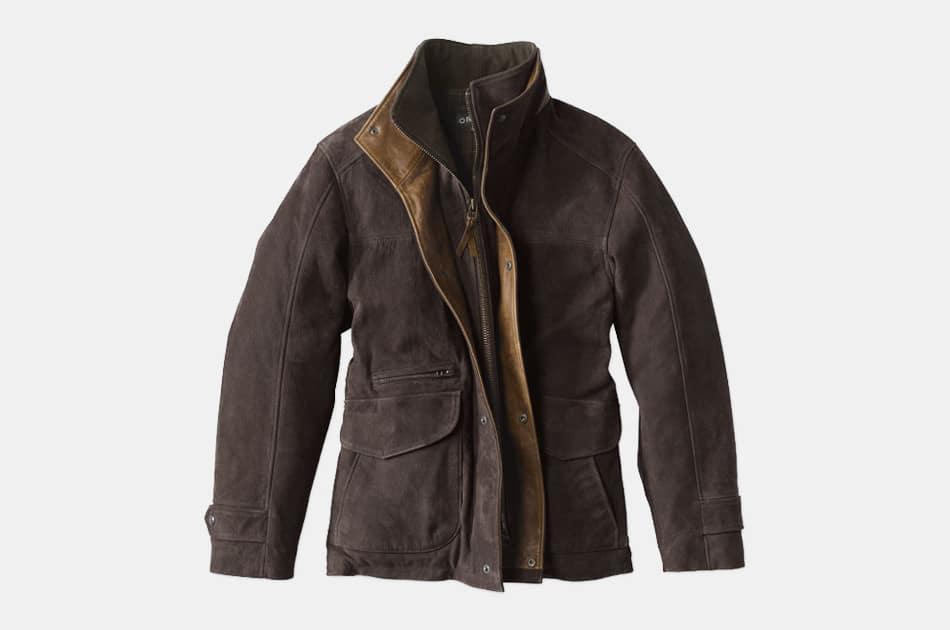 Orvis Yellowstone Leather Jacket