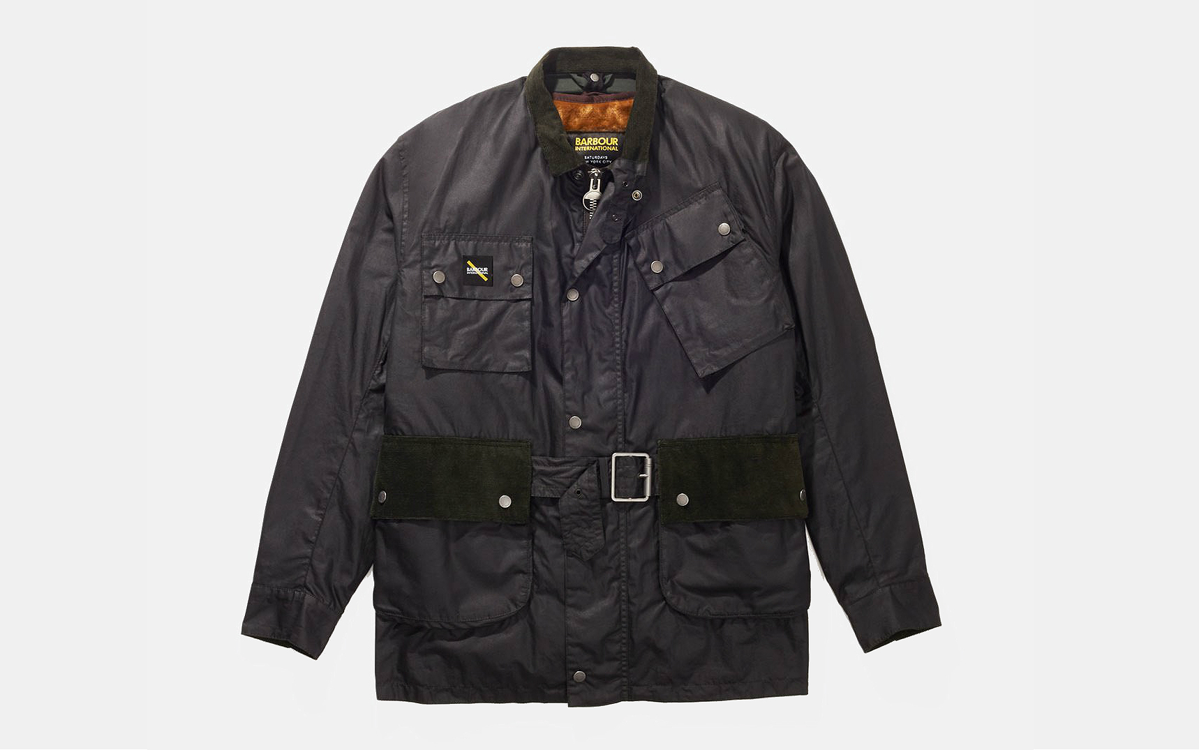 Barbour International x Saturdays NYC Winter Wax Jacket