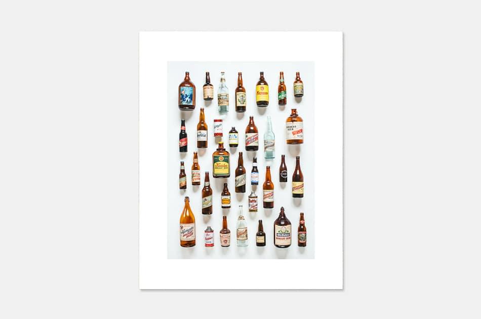 Montana Beer History Art Print