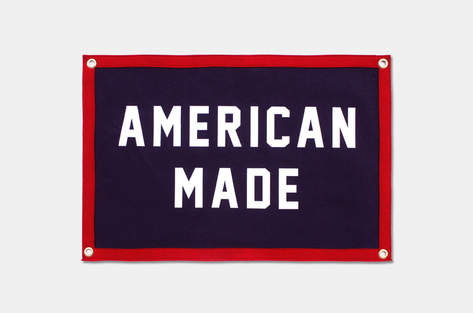 Oxford Pennant American Made Camp Flag