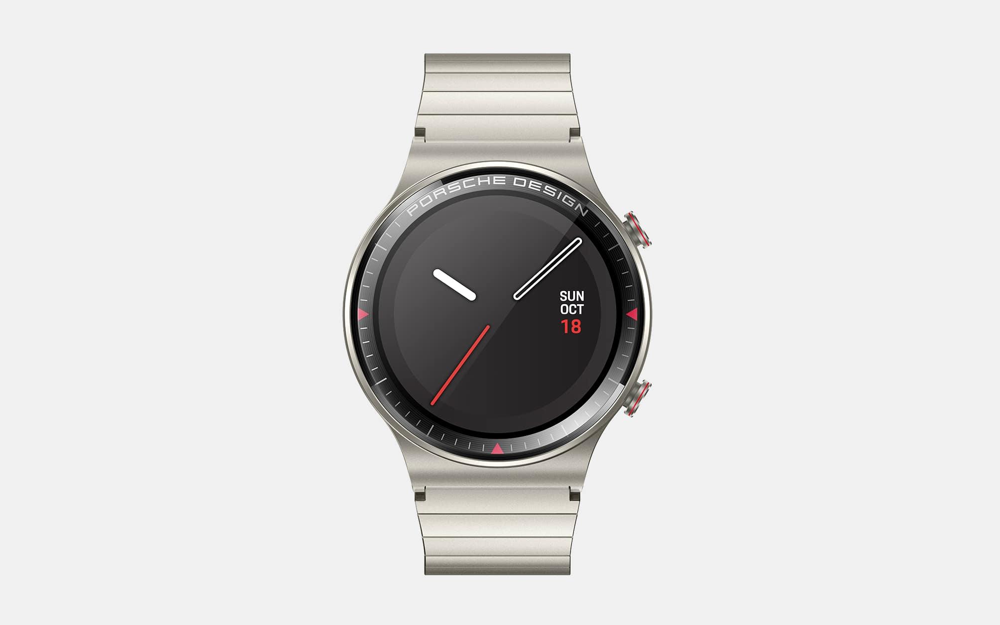 Porsche Design x Huawei GT 2 Smartwatch