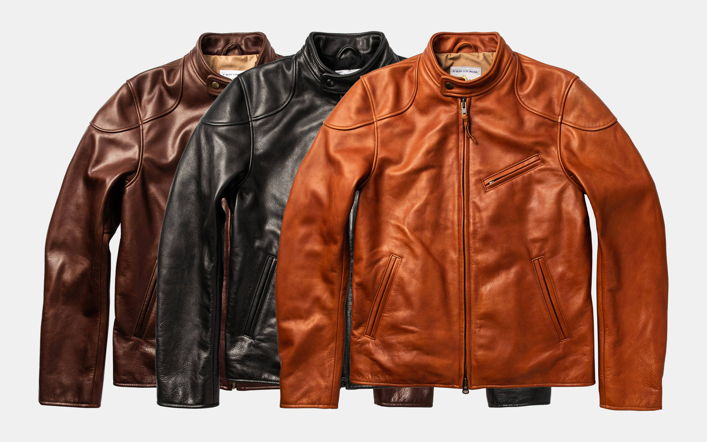 Taylor Stitch Band Collar Moto Jacket