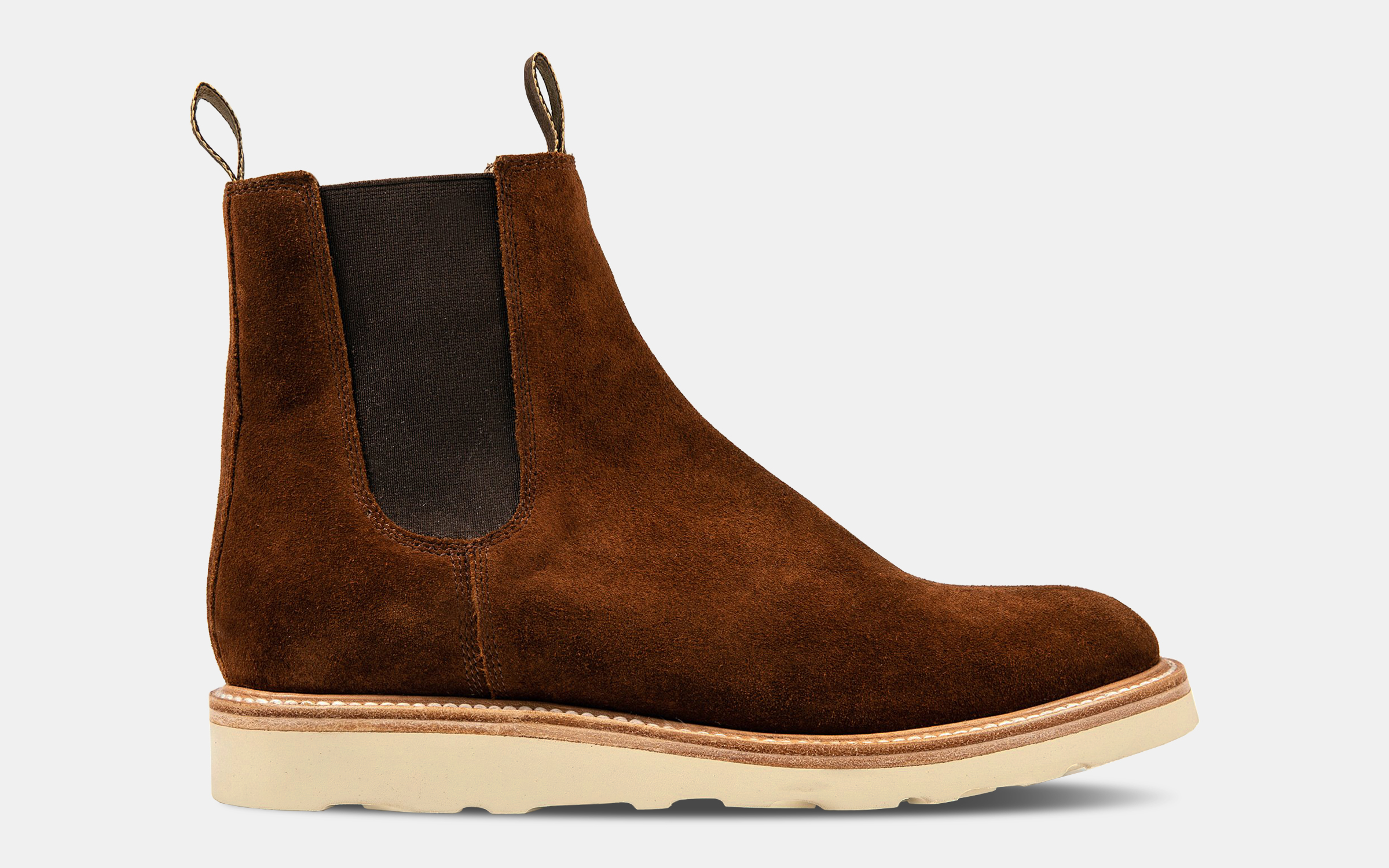 Taylor Stitch Ranch Boot in Weatherproof Snuff Suede