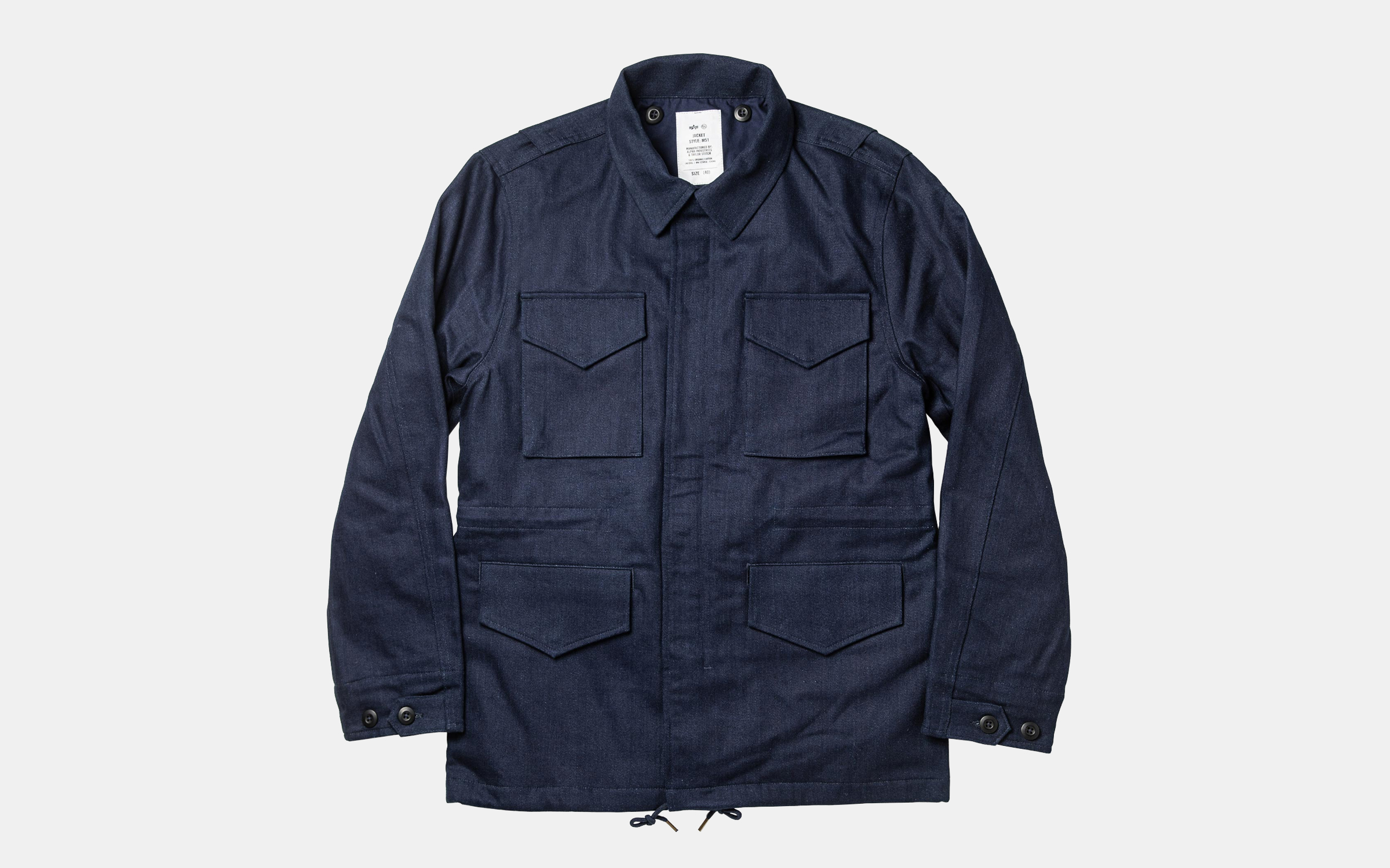 Taylor Stitch x Alpha Industries M-51 Jacket